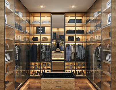Residential Walk In Closet