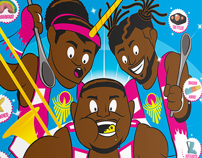 WWE: The New Day Booty-O's cereal box/t-shirt