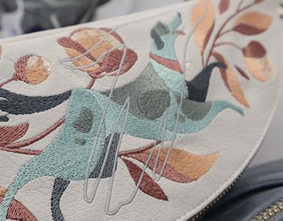 """ADOPT ME"" embroidery/print"