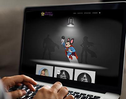 Web Design | Celebrity Super Hero