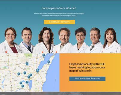 Homepage Redesign (Neuroscience Group)
