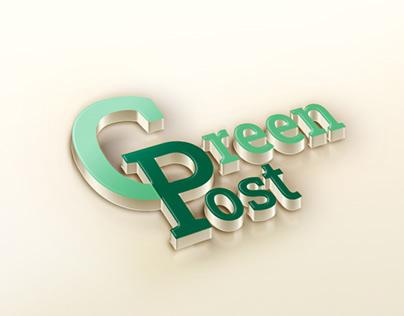 "Branded ""GreenPost"""