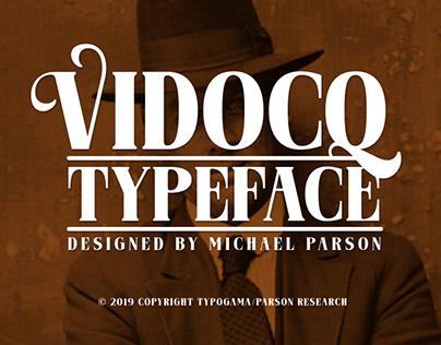 New: Vidocq typeface
