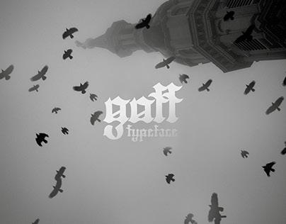 gott - gothic minuscule typeface