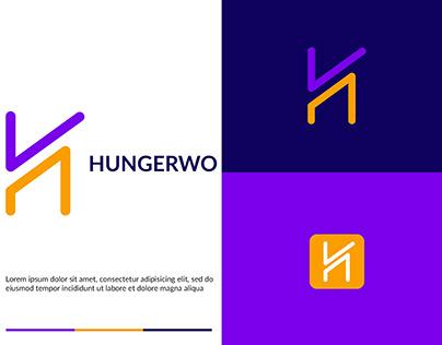Hungerwo (H) Letter Logo Design