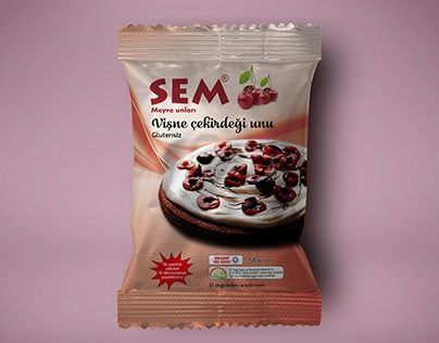 SEM fruit flours - Packaging Design