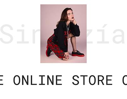 Sintezía - shoe e-store