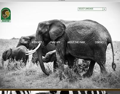 Nairobi National Park UI/UX