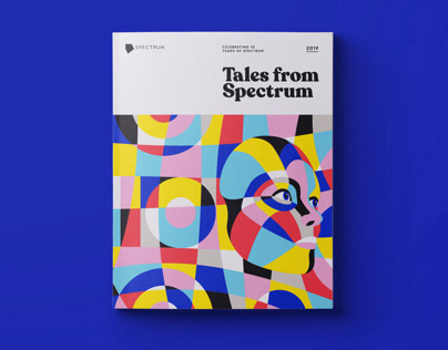Tales from Spectrum Annual Book Design