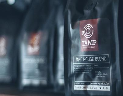 Tamp Coffee Co. Brand Identity