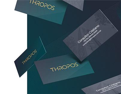 Thropos - Criação do conceito e look and feel.