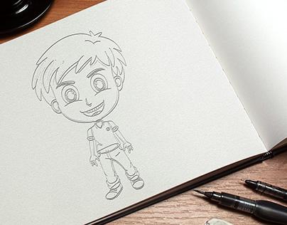 BRAIN | Character Design