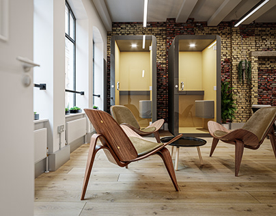 Concept design office in London