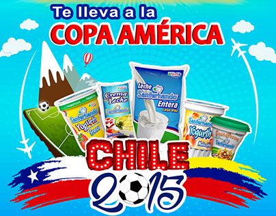 Campaña Copa América Chile 2015 de Sanfernando®