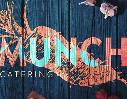 Munch Catering Web Design New business website