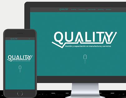 Quality.com.ar | Diseño & Maquetación web