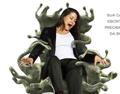 Cadeira Monstro