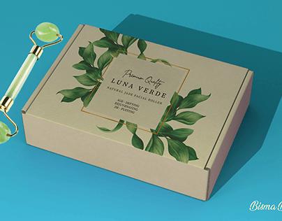 Jade Roller Packaging Design