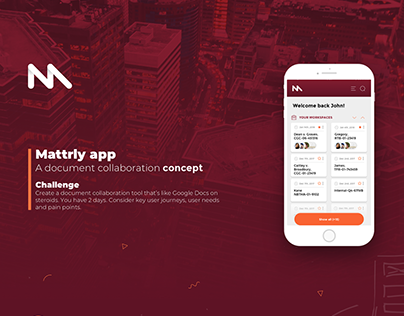 Mattrly app