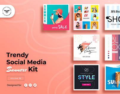 Social Media Banners Pack X