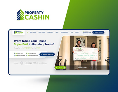 Property Cashin — Real Estate Investor Website Design