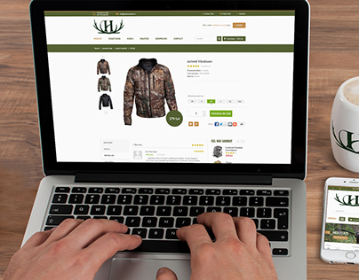 Fishing and Hunting Webshop