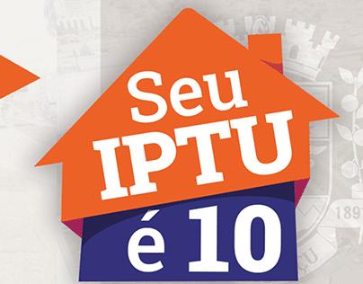 Prefeitura de Nova Iguaçu   Campanha Seu IPTU é 10