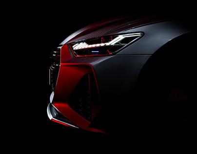 Audi RS6 Full CGI
