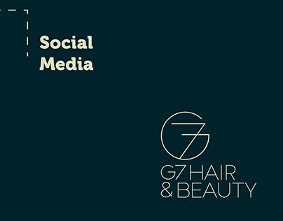 Social Media e Captura de Imagens - G7 Beauty & Hair