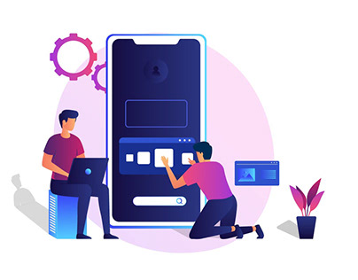 Web Hosting - illustration