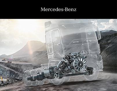 Mercedes-Benz Powertrain - Editorial Design
