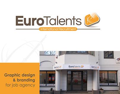 EuroTalents branding
