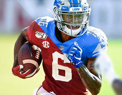 Devonta Smith jersey swap