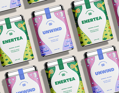 Concept Tea Packaging for Adobe Live