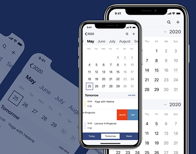 "Calendar App for IOS ""My Day"""