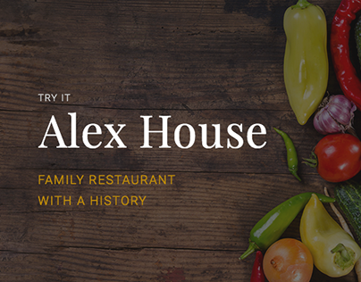 Alex House restaurant