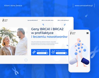 ZbadajBRCA.pl educational website