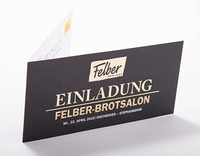 Einladung zum Felber-Brotsalon
