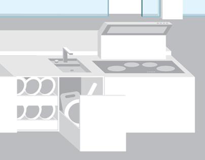 апартамент будущего | apartament przyszłości