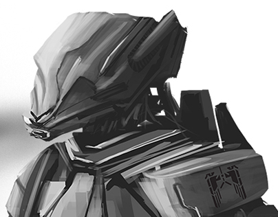 Sketches of robots - 01