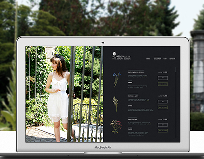 Melbourne Royal Gardens - Webdesign