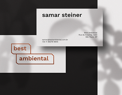 best ambiental - Visual identity