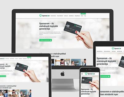 Sponsorem Rebrand and Website