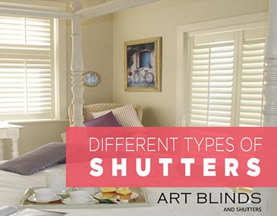 interior design types of windows shutters
