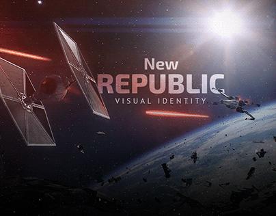 New Republic - Visual Identity [Desafio Kimura]