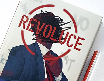 Revolution book design