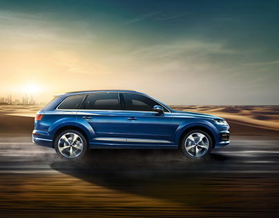 Audi Q7 Catalogue - CGI Car