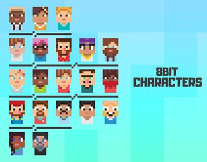 8 Bit Character Design