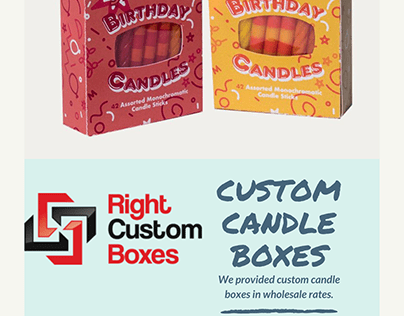 Most Attractive Custom Candle Boxes