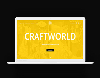Craftworld - Branding & E-Commerce Store by Ceros Tech